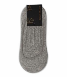 جوراب کالج ساده خاکستری