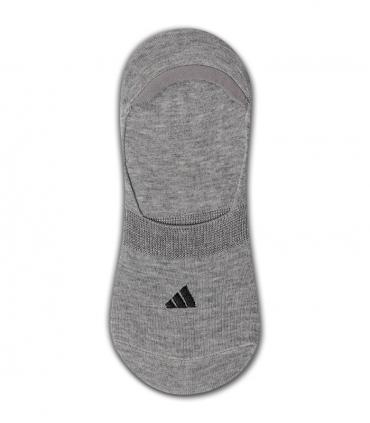 جوراب کالج طرح adidas خاکستری