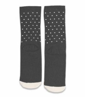 جوراب حولهای ساقدار Ekmen طرح آدمبرفی خاکستری