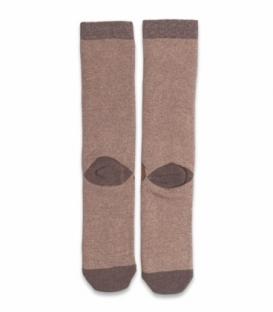 جوراب حولهای لنگه به لنگه ساقدار Ekmen طرح گوزنها قهوهای