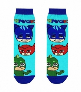 جوراب بچگانه ساقدار نانو پاتریس طرح پیجی مکس آبی روشن