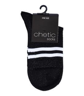 جوراب Chetic لمهای مشکی خط دار