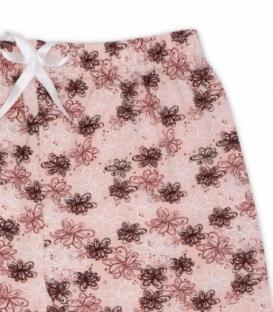 شلوارک نخی Misspel میسپل کد 460 طرح گل نازک صورتی