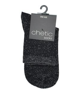 جوراب Chetic چتیک لمهای مشکی ساده