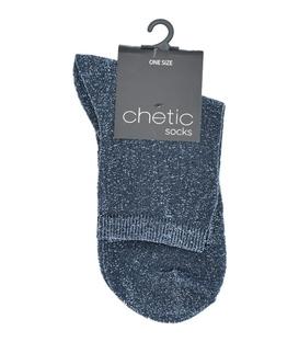 جوراب Chetic چتیک لمهای سرمهای روشن ساده