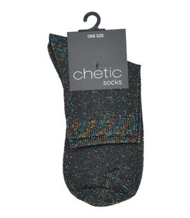 جوراب Chetic لمهای رنگارنگ راهراه ریز