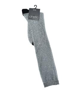 جوراب Chetic چتیک زیر زانو لمهای خاکستری