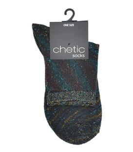 جوراب Chetic لمهای رنگارنگ راهراه درشت