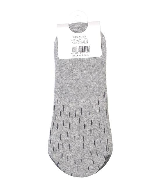 جوراب کالج طرح راسو خاکستری