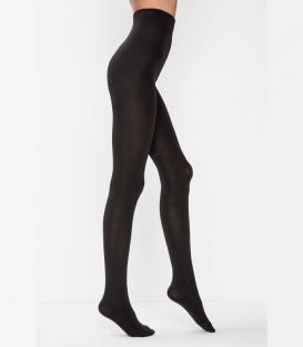 جوراب شلواری Penti پنتی طرح Wetlook سه بعدی ضخیم براق ضخامت 120 مشکی