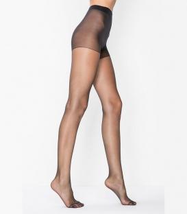 جوراب شلواری Penti پنتی مدل Fit نازک براق ضخامت 15 مشکی