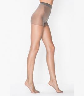 جوراب شلواری Penti پنتی مدل Fit نازک براق ضخامت 15 دودی Cement