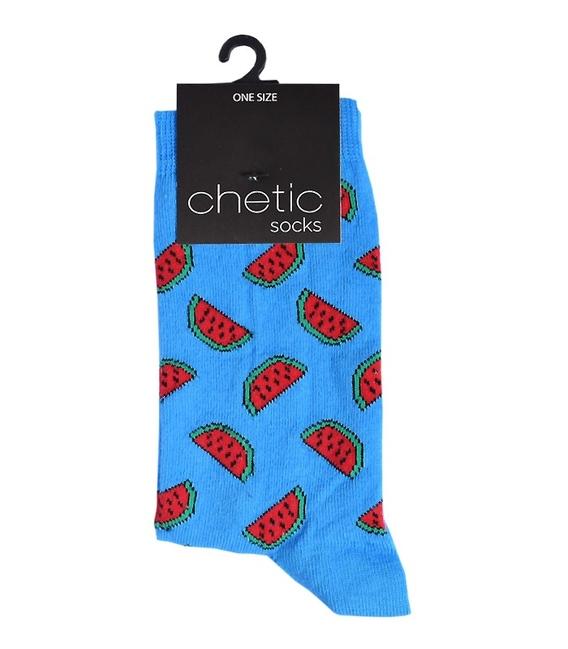 جوراب Chetic چتیک طرح هندوانه آبی