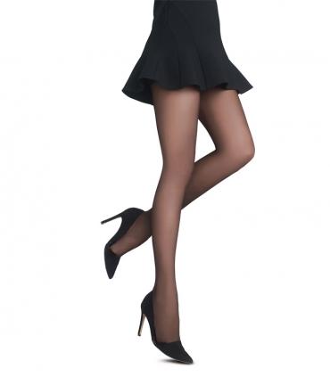 جوراب شلواری Penti پنتی مدل Fit نازک براق ضخامت 20 مشکی