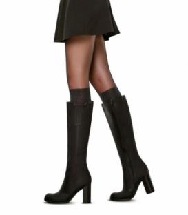جوراب شلواری Penti پنتی مدل Trendy Cizme Corabi نازک طرح بوت ضخامت 20 مشکی