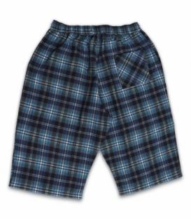 شلوارک مردانه جیبدار تترون چهارخونه نیکو تن پوش کد 4074 طرح 105