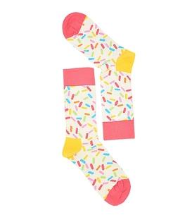 جوراب طرح هپی ساکس رنگارنگ