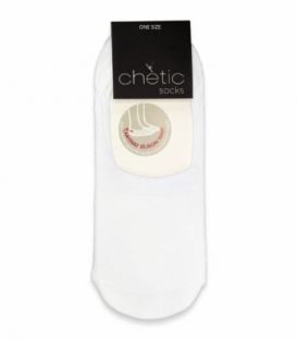 جوراب کالج Chetic چتیک ساده سفید