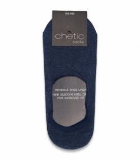 جوراب کالج Chetic چتیک ساده سرمهای