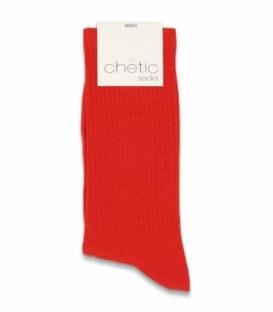 جوراب ساقدار کش انگلیسی Chetic چتیک ساده قرمز