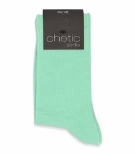 جوراب ساقدار کش انگلیسی Chetic چتیک ساده سبز روشن