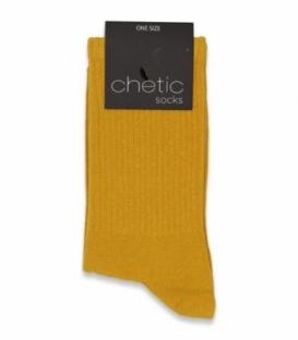 جوراب ساقدار کش انگلیسی Chetic چتیک ساده پرتقالی