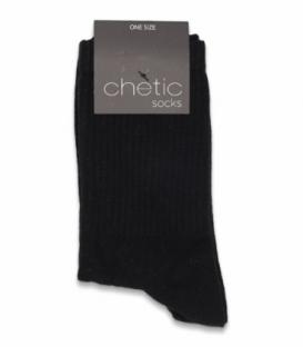 جوراب ساقدار کش انگلیسی Chetic چتیک ساده مشکی