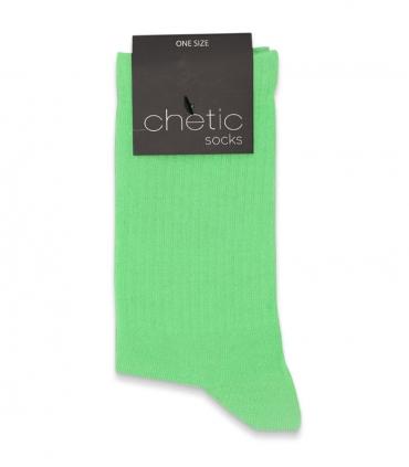 جوراب ساقدار کش انگلیسی Chetic چتیک ساده سبز