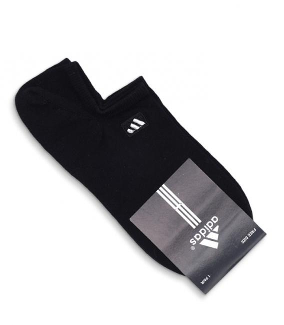جوراب قوزکی طرح adidas مشکی
