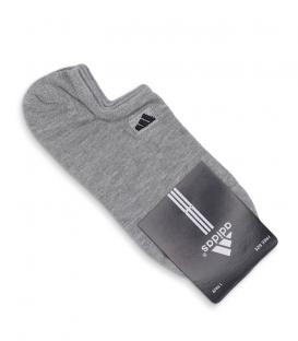 جوراب قوزکی طرح adidas خاکستری