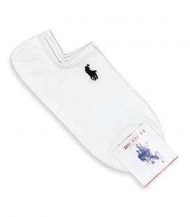 جوراب قوزکی طرح U.S. POLO ASSN.سفید