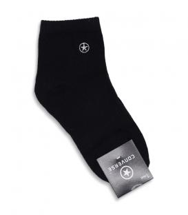 جوراب نیم ساق طرح Converse مشکی
