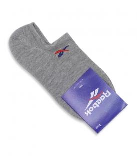 جوراب قوزکی طرح Reebok خاکستری