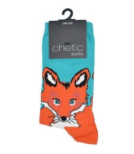 جوراب Chetic چتیک طرح روباه زیرک