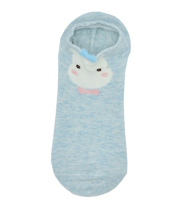 جوراب مچی گوشدار طرح حیوان بینام آبی