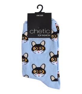 جوراب Chetic چتیک طرح گربه سیاه