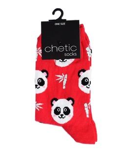 جوراب Chetic چتیک طرح پاندا قرمز