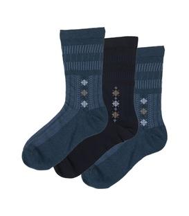 جوراب ساق دار دیابتی طیف آبی - ۳ جفت
