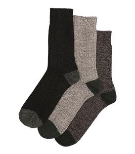 جوراب پشمی ساقدار مردانه ضخیم - ۳ جفت