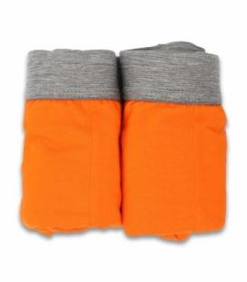 شورت اسلیپ کش اسپورت طرح ترک نیکو تن پوش کد 3154 نارنجی - بسته دو عددی
