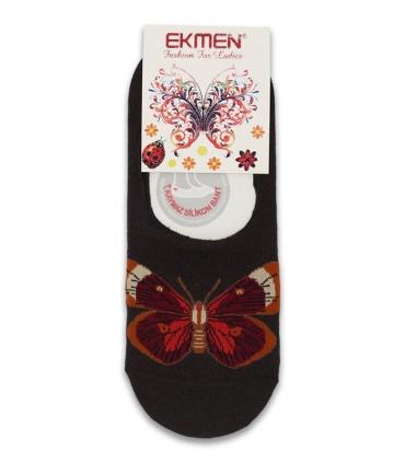 جوراب کالج Ekmen اکمن پروانهای قهوهای