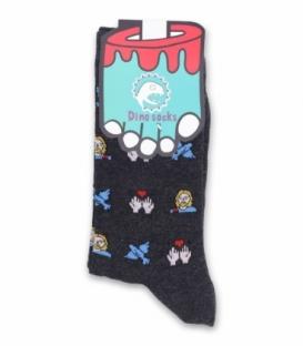 جوراب ساقدار داینو ساکس طرح صلح