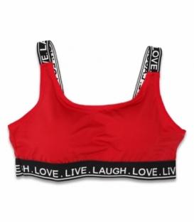 نیم تنه ورزشی زنانه کش پهن Koza کوزا کد 80527 ساده قرمز