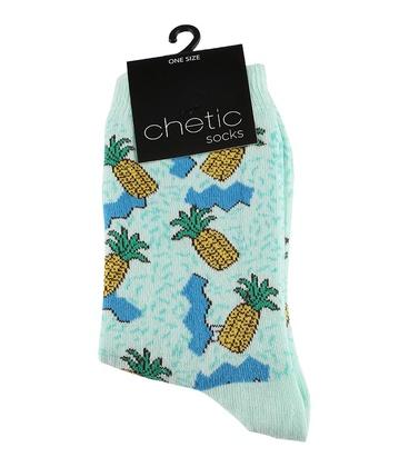 جوراب ساق دار Chetic طرح آناناس شناور