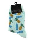 جوراب ساق دار Chetic چتیک طرح آناناس شناور