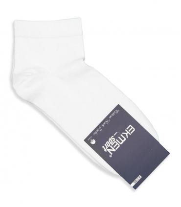 جوراب نیم ساق Ekmen اکمن ساده سفید