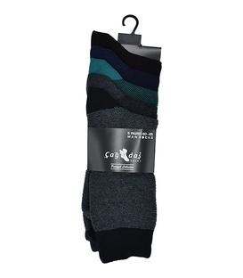 جوراب ساق بلند مردانه Çağdaş جودان - ۵ جفت