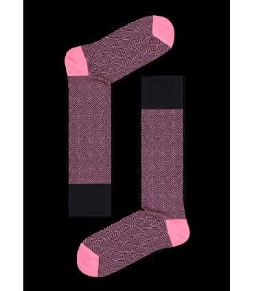 جوراب HappySocks طرح Dressed مدل Divided Herringbone
