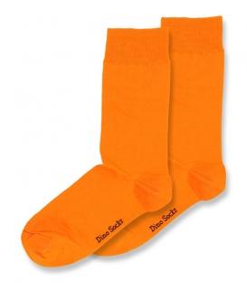 جوراب ساقدار داینو ساکس ساده نارنجی