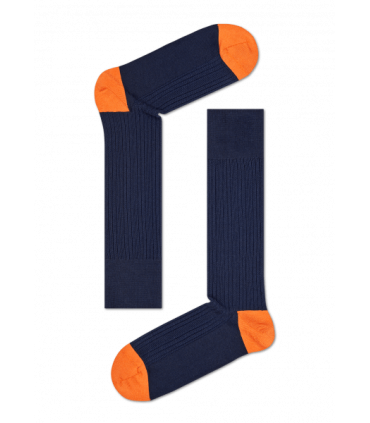 جوراب HappySocks طرح Dressed مدل Rib Knit